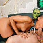 Photos sexe hard de Noë Milk baisée pour Halloween