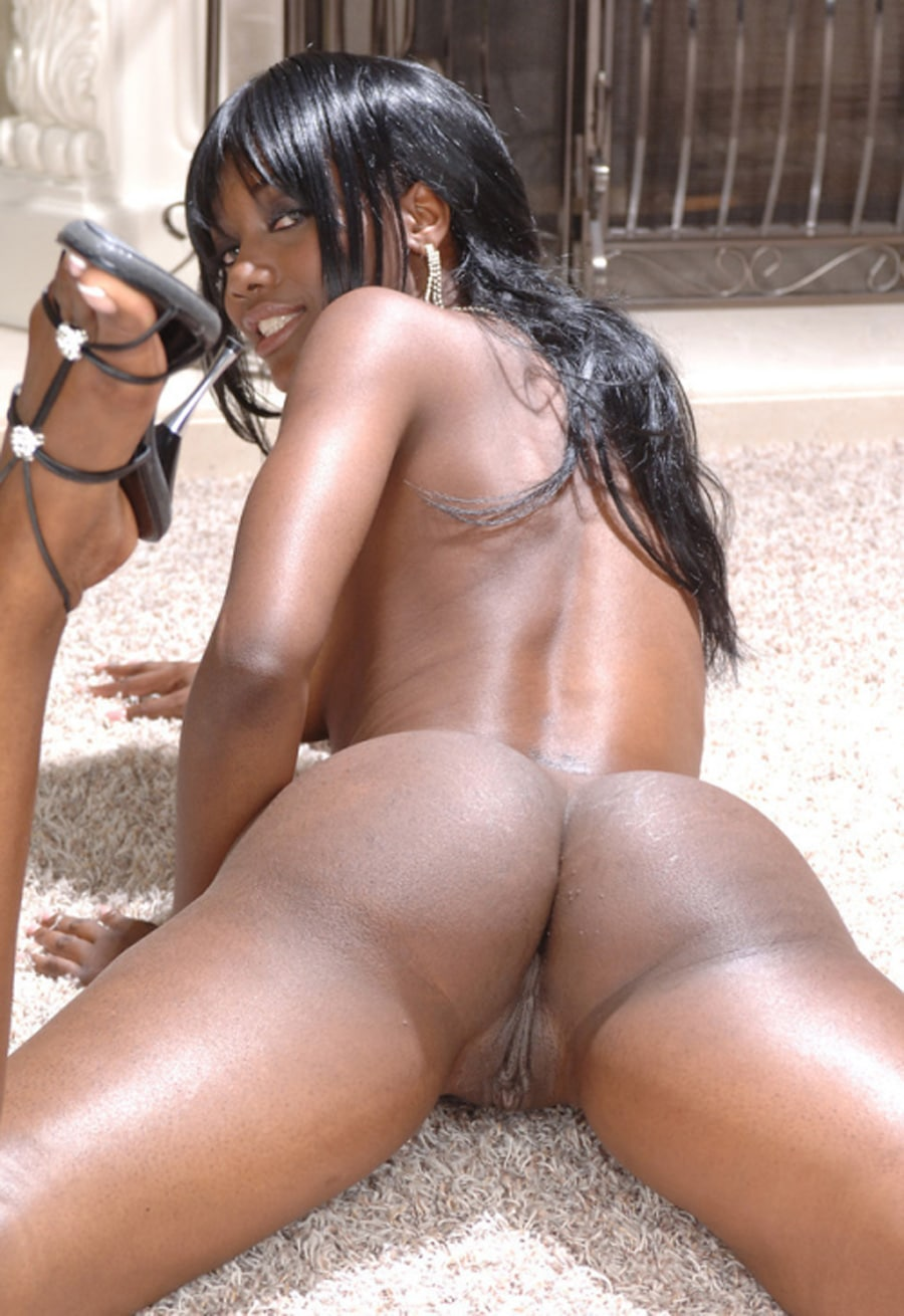 Small Black Girl Ass